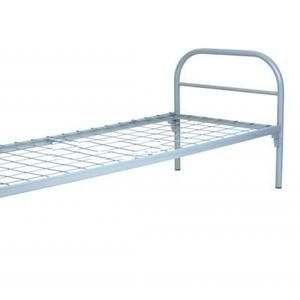 Бюджетные кровати металлические двухъярусные с лестницами