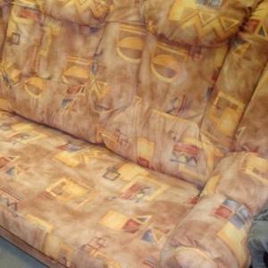 Диван - кровать французская раскладушка ,  материал флок новый